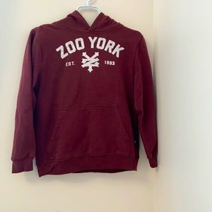 Zoo York boys Hoodie w/ front pockets. Size:L / 14